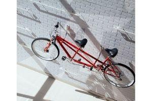 Ganchos bici pared