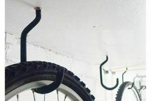 Ganchos para Colgar la Bicicleta en el Techo