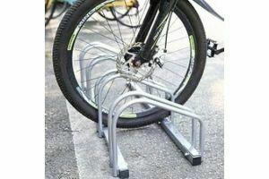 Soporte bici suelo
