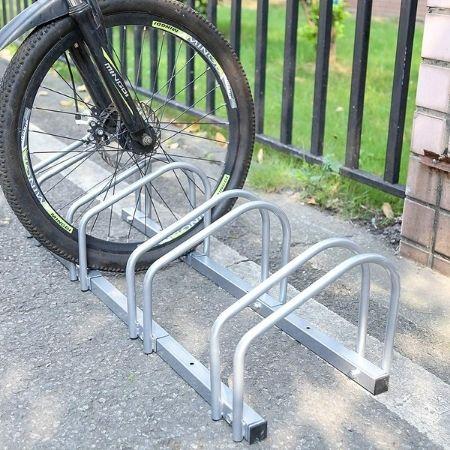 soporte 2 bicicletas suelo