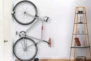 Los mejores soportes para colgar la bicicleta vertical
