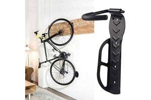 Ganchos para bicicletas en la pared